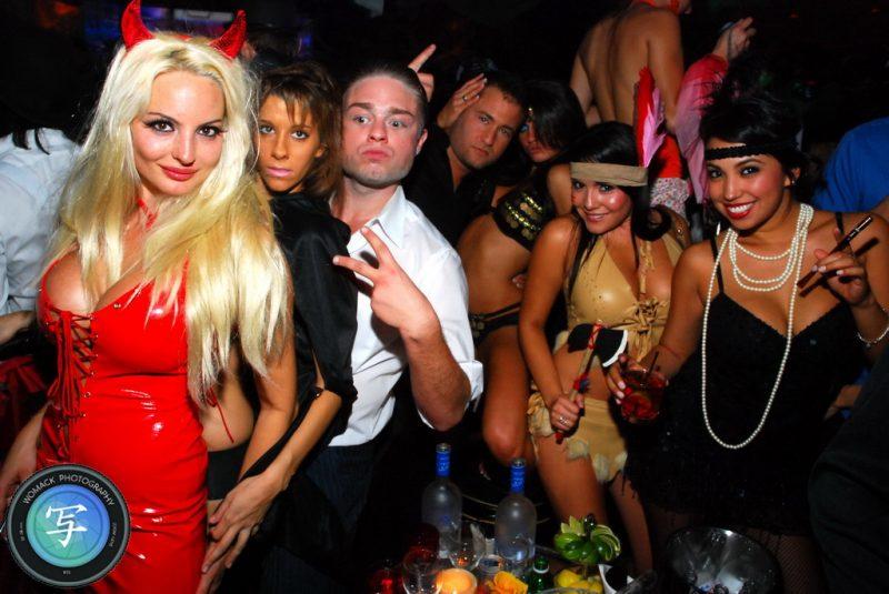 Halloween 2008 at The Bank Nightclub